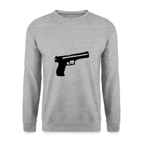 gun, crewneck, boy (unisex, oversize girl) - Herre sweater
