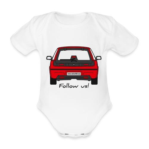 Body manches courtes - Follow us! - Body bébé bio manches courtes