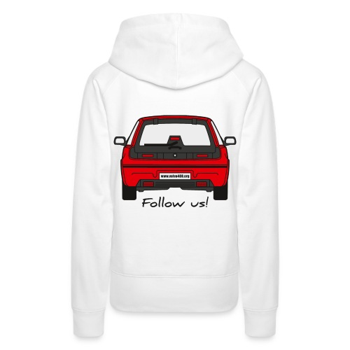 Sweat à capuche femme - Follow us! - Sweat-shirt à capuche Premium pour femmes