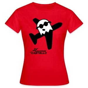 Fantasma d'AeroPor  - Color Deluxe Xica - Camiseta mujer