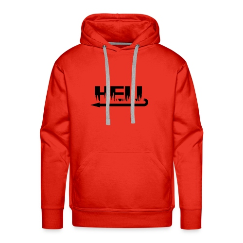 hell - Sweat-shirt à capuche Premium pour hommes