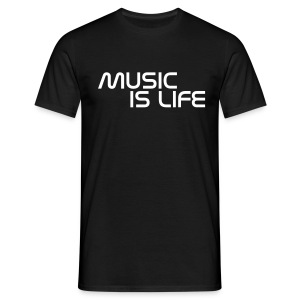 Music is life - Men's T-Shirt