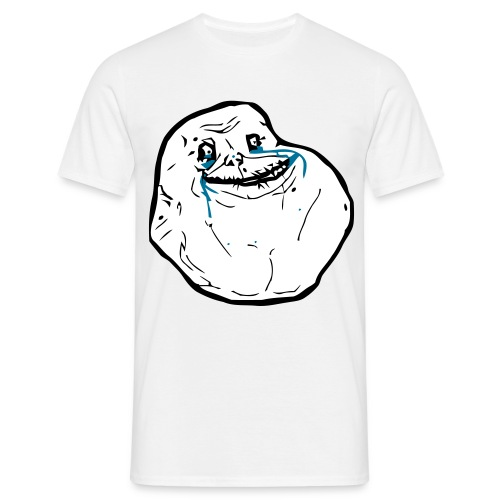Forever Alone T-Shirt Boys - Männer T-Shirt