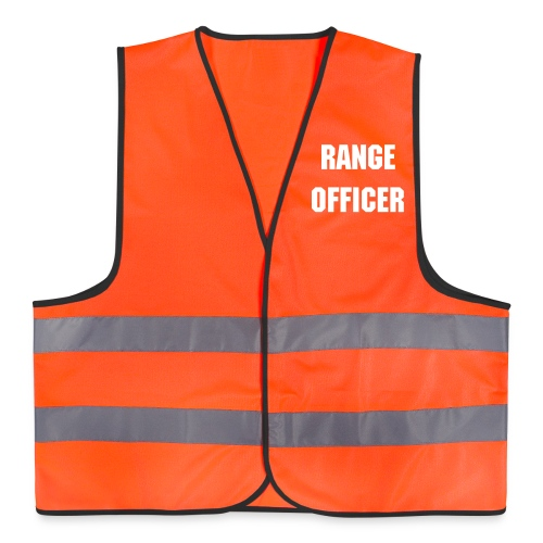 Reflective Vest - RANGE OFFICER  - Reflective Vest