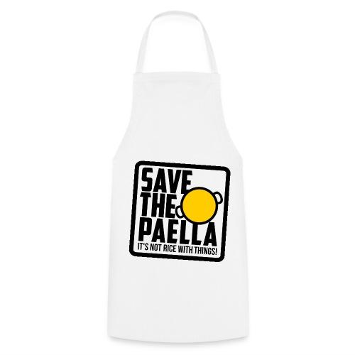 Davantal Save the paella - Delantal de cocina