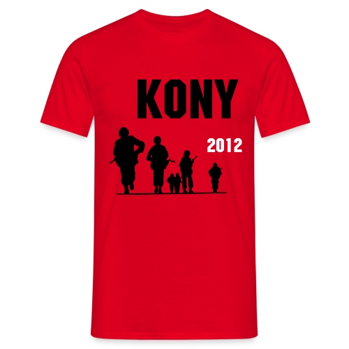KONY 2012 RECREATION - Men's T-Shirt