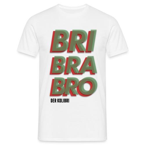 KOLIBRI BRIBRABRO MEN WHITE - Männer T-Shirt