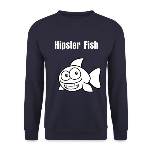 Hipster Fish Crewneck - Herre sweater