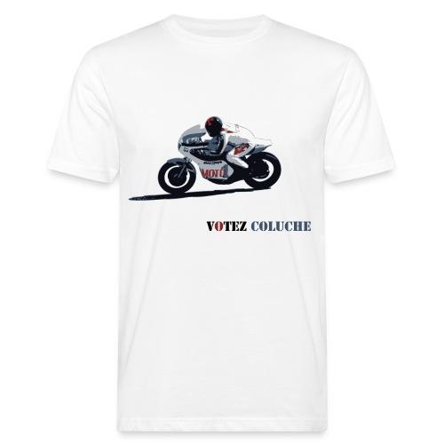 Coluche à moto bio - T-shirt bio Homme