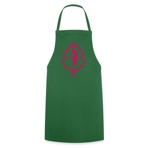 Grill- und Kochschütze Band Grün/Magenta   - Kochschürze