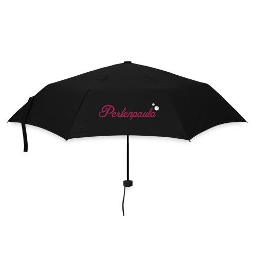 Kleiner Regenschirm Perlenpaula in Grün/Magenta-Weiß - Regenschirm (klein)