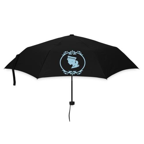 Kleiner Regenschirm Mädel in Grün/Hellblau - Regenschirm (klein)