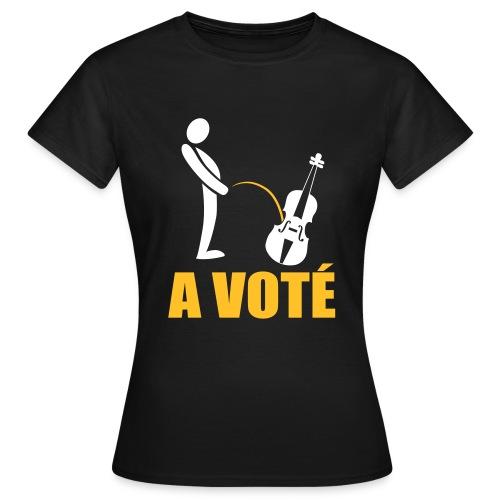 A voté - T-shirt Femme