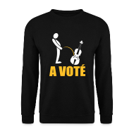 Sweat-shirts ~ Sweat-shirt Homme ~ A voté