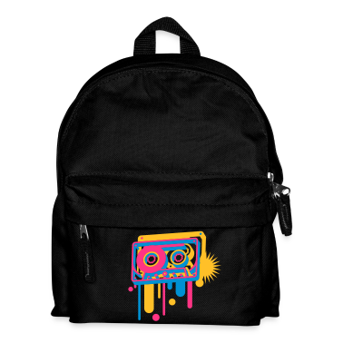 3D music cassette in graffiti style  Bags
