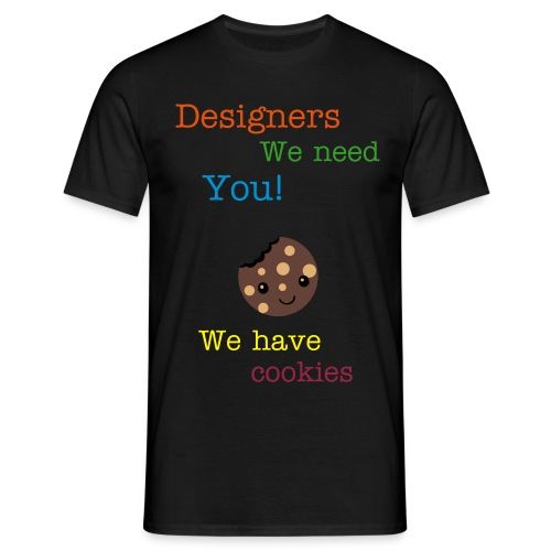 Designers needed - Men's T-Shirt