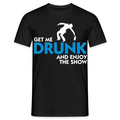 Partyskjorta - T-skjorte for menn