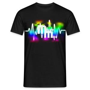 M BLACK - Mannen T-shirt