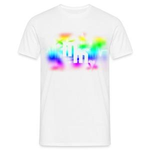 M WHITE - Mannen T-shirt