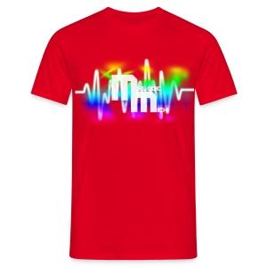 M RED - Mannen T-shirt