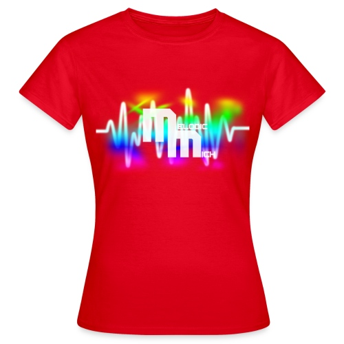 V RED - Vrouwen T-shirt