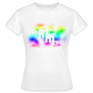 V WHITE - Vrouwen T-shirt
