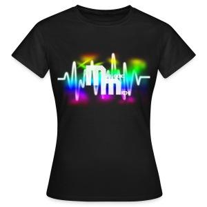 V BLACK - Vrouwen T-shirt