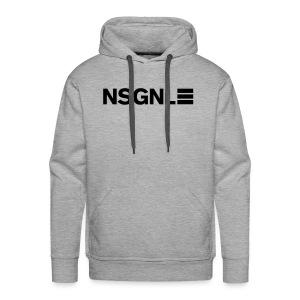 NSGNL Cargo Line Black  - Hoodie - Men's Premium Hoodie