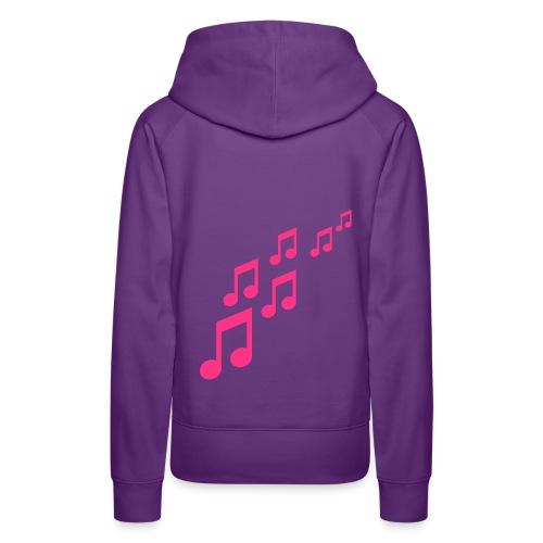 music - Frauen Premium Hoodie