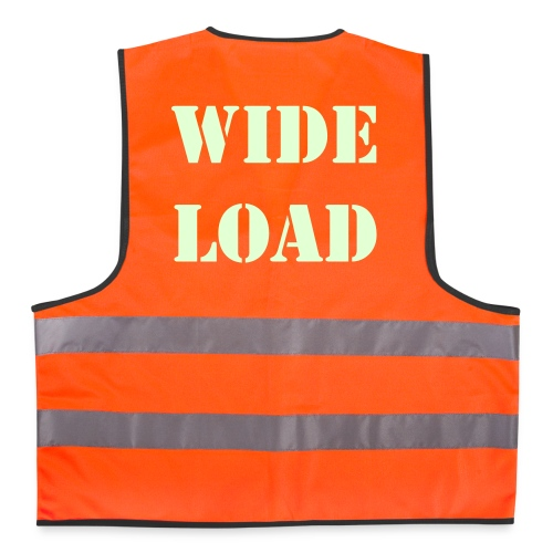 Wide Load Vest - Reflective Vest