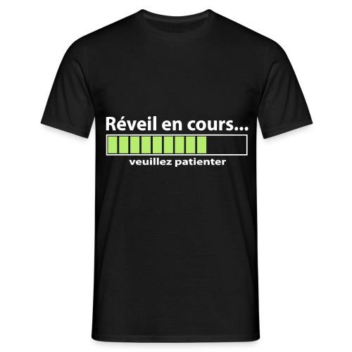 T shirt Réveil en cours - T-shirt Homme