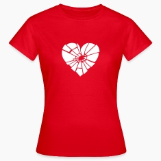 shattered heart T-Shirts