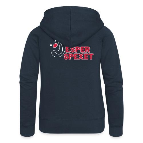 Zip-hoodie Dam - Premium luvjacka dam
