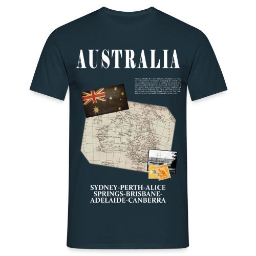 Australia - World Tour Expedition - T-shirt Homme
