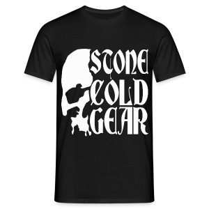 Stone Cold Gear Skull Logo - Men's T-Shirt