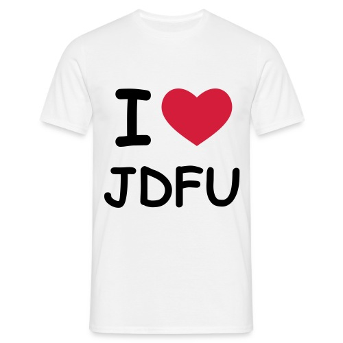 JDFU Love Men - Männer T-Shirt