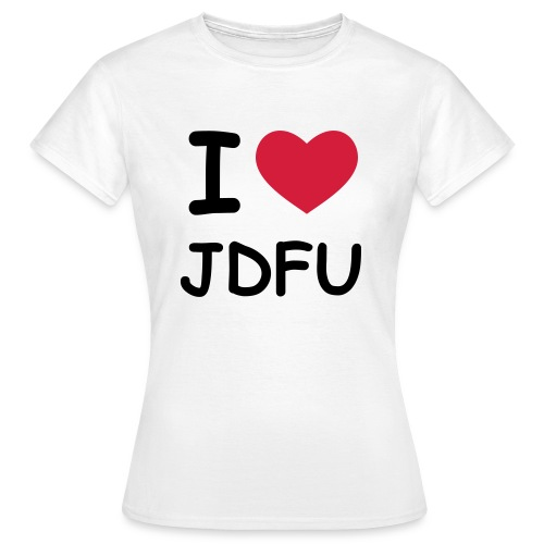 JDFU Love Girl - Frauen T-Shirt
