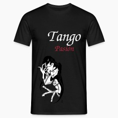 Romantic Love Man T-shirt - Argentine Tango