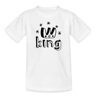 I am a King! Kids' Shirts