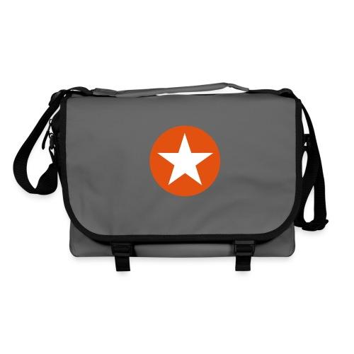 sacoche homme orange star - Sac à bandoulière