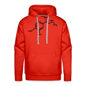 Adrenaline-Red - Men's Premium Hoodie