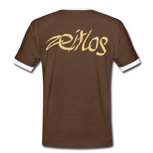 zeitlos Original Retro Shirt - Männer Kontrast-T-Shirt