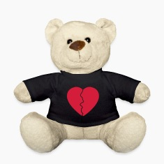 Love hurts / broken heart Teddies