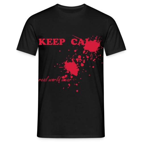 Keep Calm - Mannen T-shirt