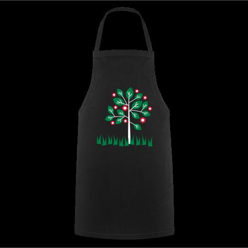 gartenschürze, retrobaum - Kochschürze