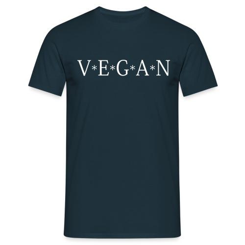 Mens V*E*G*A*N - Männer T-Shirt