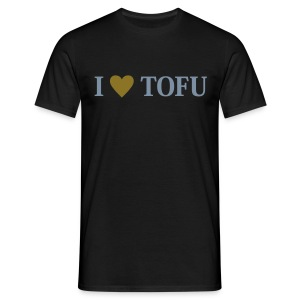Mens - I LOVE TOFU - Männer T-Shirt