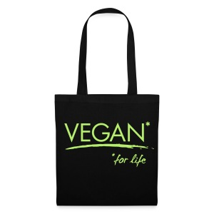 VEGAN* for life! - Stoffbeutel