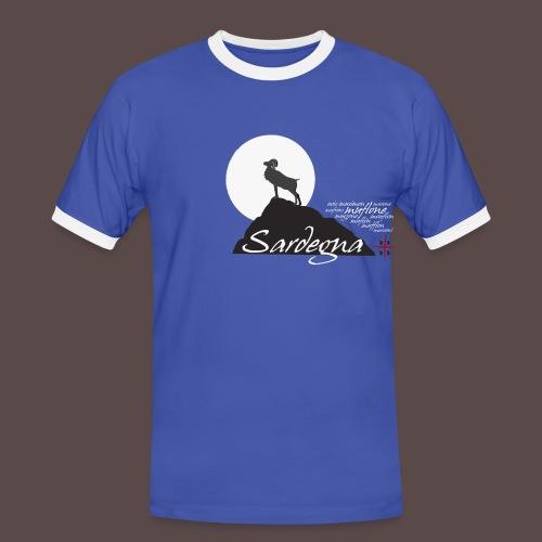 Muflone - Maglietta Contrast da uomo