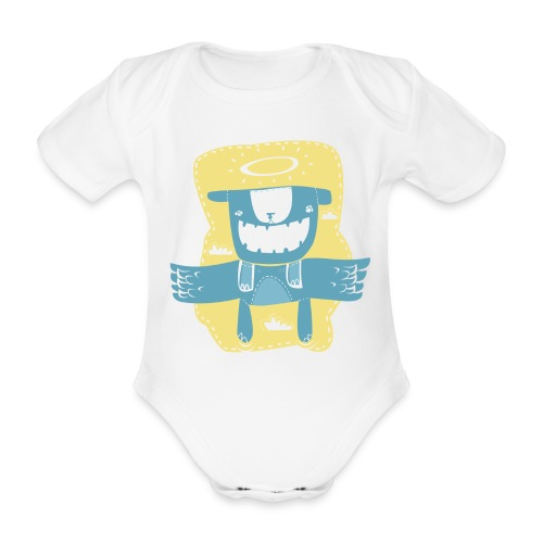 Angel of Ted - Organic Short-sleeved Baby Bodysuit
